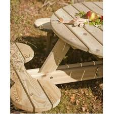 Plans For Making A Round Picnic Table by The 8 Best Images About Benches On Pinterest