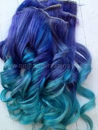 blue hair extensions blue ombre hair purple blue hair extensions purple ombre dip