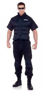 mens costumes plus size men s swat officer costume candy apple costumes