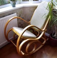 siege thonet neuf siège rembourré bois courbé bouleau chaise à bascule thonet lit