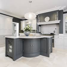 Interior Of A Kitchen Grey Kitchens Ideal Home