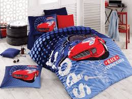 sport race cars bedding boys duvet cover set single twin size 100