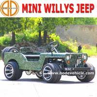 mini jeep for kids bode quality assured gas 110cc mini willys jeep go kart kids utv for