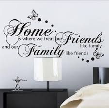 32 large wall decals quotes wall sticker quote decal art decor by large home family diy quote wall decals removable vinyl wall stickers