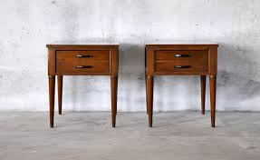 nightstand appealing nightstand white drawer mid century modern