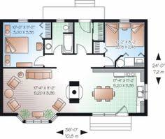 Living Room And Kitchen by New Panel Homes 20 By 30 Traditional Floor Plan Small Tiny