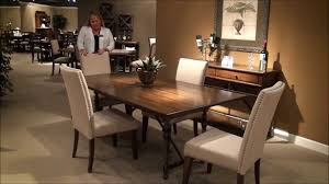 5 piece ivy park rectangular trestle dining room set by liberty 5 piece ivy park rectangular trestle dining room set by liberty furniture home gallery stores youtube
