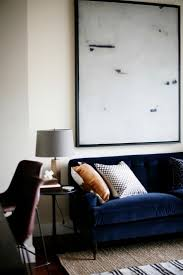 Interior Blue The 25 Best Navy Blue Sofa Ideas On Pinterest Navy Blue Velvet