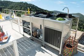 module cuisine la cuisine d extérieur de plus en plus tendance côté maison