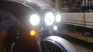 Cyron Led Light Strips by Shop Work Installed Our New Solar Signals Dual Color Motorcycle