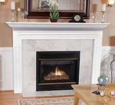 pearl mantels 510 the newport mdf fireplace mantel in white home