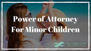 Difference Between Durable And General Power Of Attorney by Power Of Attorney For Minor Children Youtube