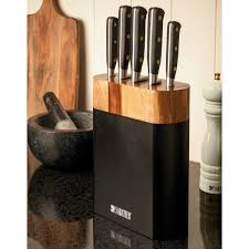 kitchen knives sabatier sabatier 5 piece knife block set