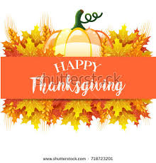 thanksgiving day card stock illustration 718723201