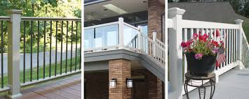 Vinyl Porch Rail  Posts columns wraps and porch rail systems