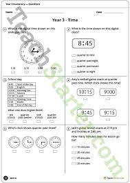 numeracy assessment tool year 3 teaching resource u2013 teach starter