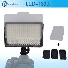 mcoplus bi color 168 led video light photography lighting 3200k