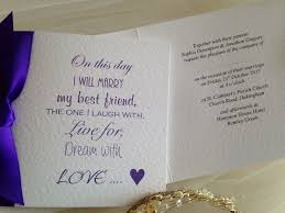 wedding invitations for friends my best friend wedding invitations wedding invites