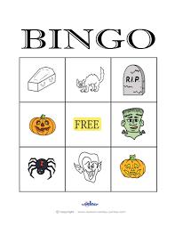 Halloween Bingo Printable Free by Halloween Bingo 3 3