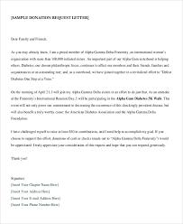 sample donation letter format sample letter asking for donations