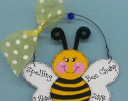 honey bee ornaments etsy