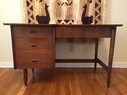 Modern Walnut Desk Vintage Mcm Black Walnut Desk From S Mainline Collection