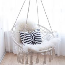 macrame hanging chair macrame hanging chair suppliers and