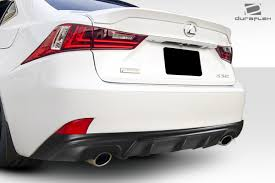 lexus brunei duraflex is350 is250 am design rear diffuser 1 pc f sport for