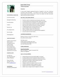 accounting accounting resume templates free resume templates free