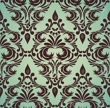 683 Best Pattern Wallpaper Textiles by Seamless Damask Pattern In Brown And Green Colors Royalty Free