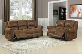Leather Reclining Living Room Sets Suede Leather Reclining Sofa Catosfera Net