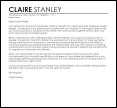 cna reference letter reference letters livecareer
