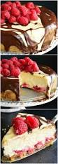 chocolate raspberry dessert double chocolate ganache and raspberry cheesecake will cook for