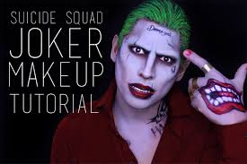 halloween make up joker squad joker makeup tutorial youtube