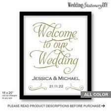 wedding welcome sign template wedding welcome signs welcome to our wedding signs printable