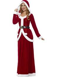 mrs claus costumes deluxe mrs claus costume santa christmas fancy dress