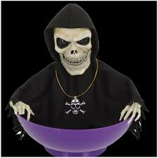 Animated Halloween Skeleton by Halloween Animated Skeleton Candy Bowl Mad About Horror