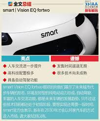 2017法兰克福车展 smart vision eq fortwo解码 搜狐汽车 搜狐网
