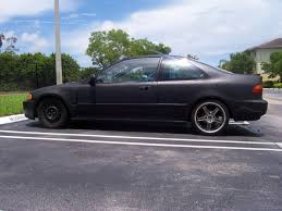 95 honda civic black 95 civic coupe b16a2 built skunk2 and more