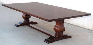 Dining Table Or Trestle Table In Distressed Cherrywood For Sale At - Trestle kitchen tables