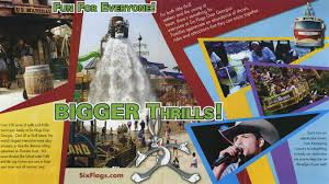 Six Flags Atlanta Water Park Theme Park Brochures Six Flags Over Georgia Theme Park Brochures