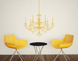 Chandelier Wall Decal Wall Decal Motifs On Behance