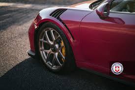 wheels porsche 911 gt3 porsche 911 gt3 rs with hre r101 lightweight wheels in brushed