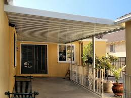 Aladdin Awnings Step Down Aluminum Awning With Scalloped Edges And Aluminum Side