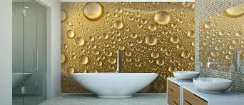 wallpapered bathrooms ideas bath wallpaper