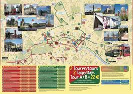 touristic map of map of berlin tourist attractions sightseeing tourist tour
