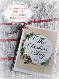 christmas story booklet u0026 12 days free christmas printables