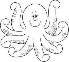 free printable octopus coloring pages for kids with page itgod me