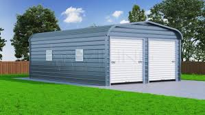 Steel Barns Sale Metal Garages For Sale Regular Roof Garages Steel Garages