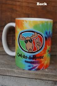mug cool as a moose vermont tiedye